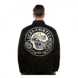 lucky 13 black sin jacket zwart 1 8604